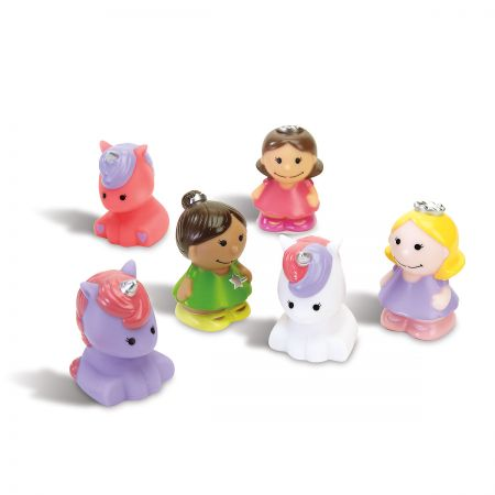 6 Princess Party Baby Bath Squirties