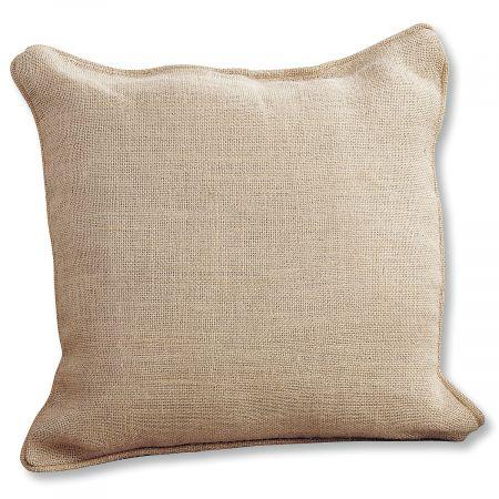 Burlap Pillow by Mud Pie