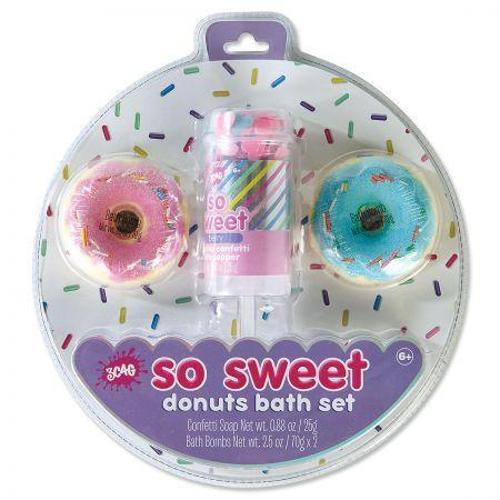 So Sweet Donut Bath Bomb Set