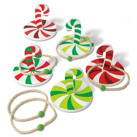 Candy Cane Ring Toss