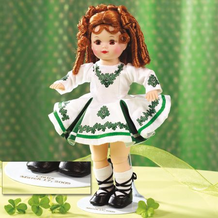 Madame Alexander® 2009 St. Patrick's Day Doll & Stand
