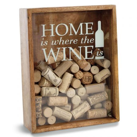 Wine Cork Display Box by Mud Pie