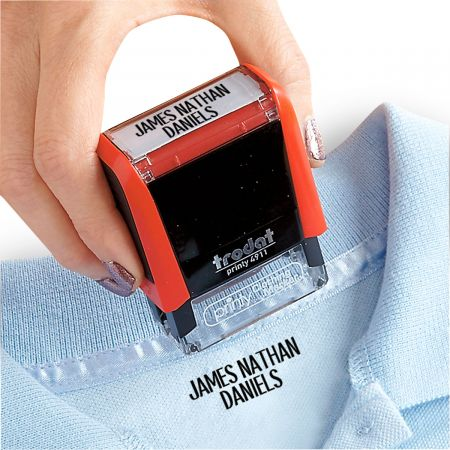 Self-Inking Personalized Clothes Stamper