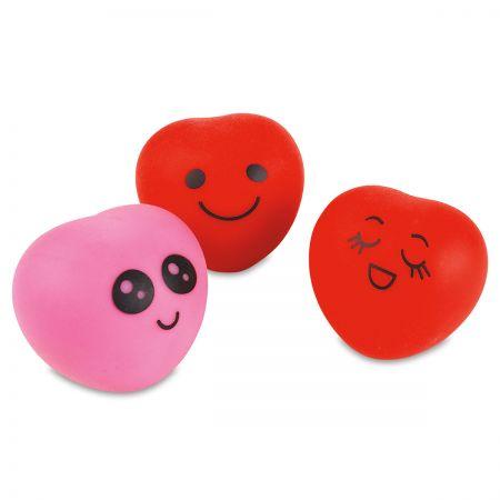 Squish & Stretch Soft Gummi Hearts