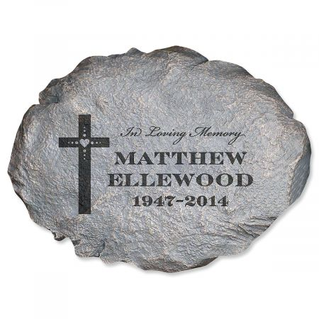 In Loving Memory Personalized Garden Stone