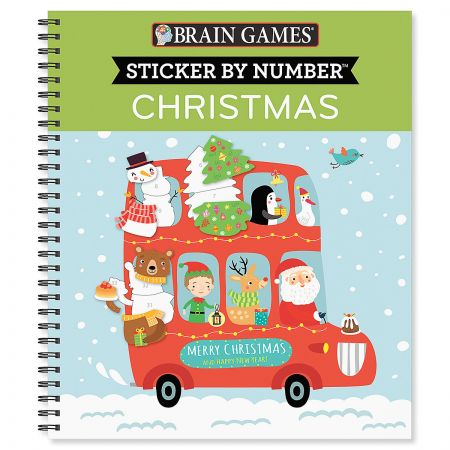 Brain Games Christmas Sticker by Number