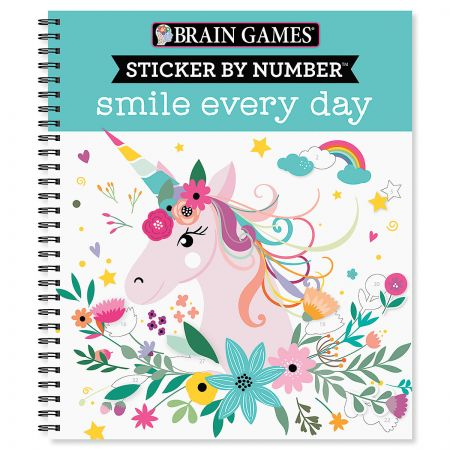 Brain Games Smile Everyday Sticker by Number