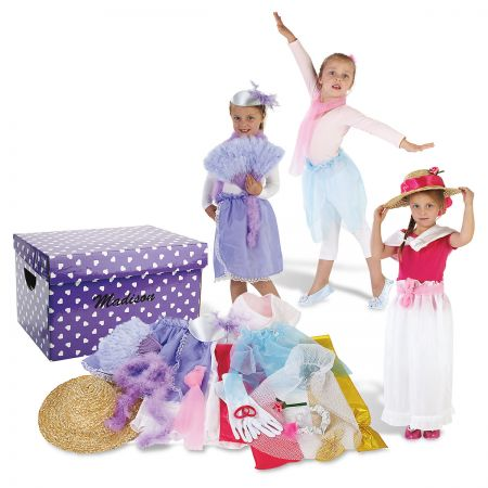 Princess Dress-Up Trunk and Accessories