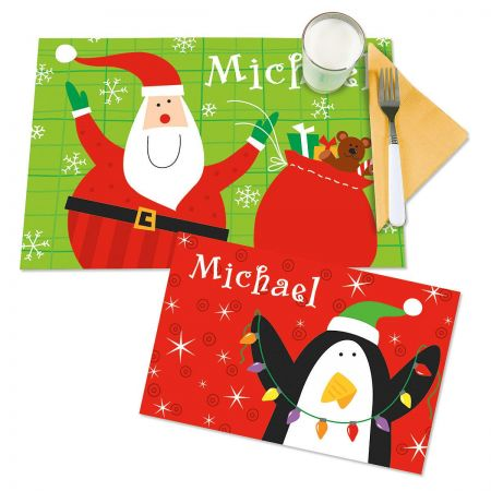 Reversible Christmas Placemat