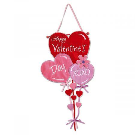 Valentine's Day Hearts Door Banner