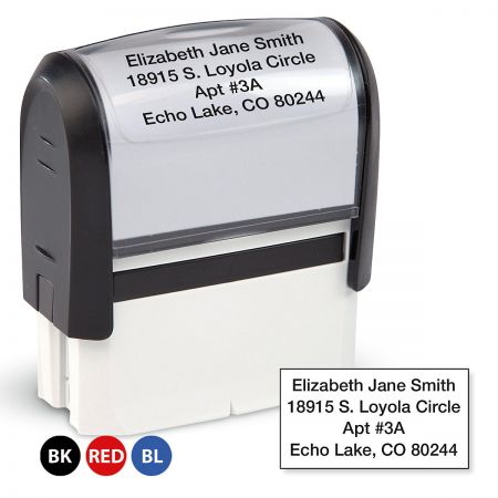 Address Stamp Standard Self-Inking