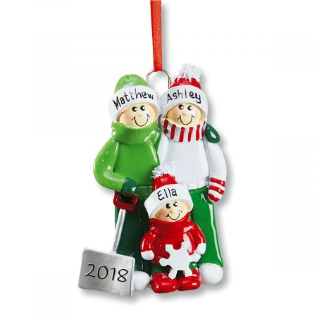 Holiday Snow Shovel Ornament-1 Child-607562A