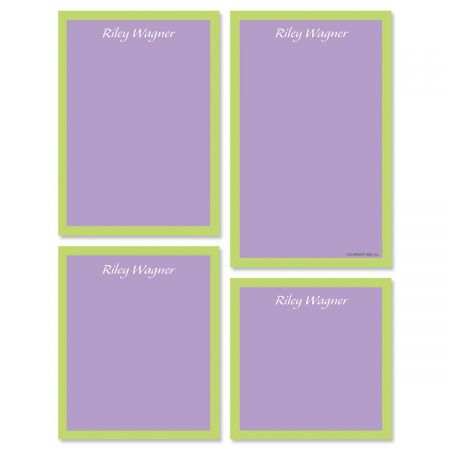 Bordered Hues Notepads