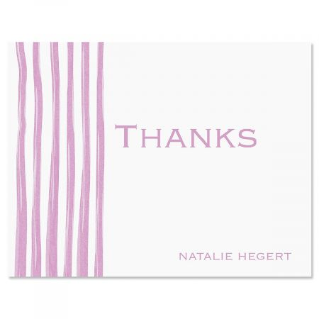 Sheer Delight Thank You Card-Lavender-609279A