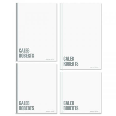 Stylin' Notepads-Grey-609286C