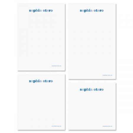 Color Wash Notepads