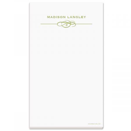Distinction Notepad-Green-609323B
