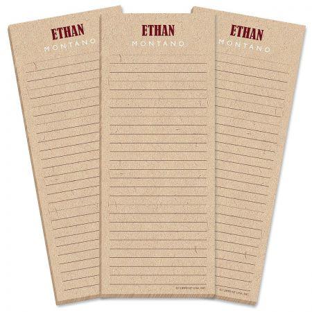 Handspun List Pad