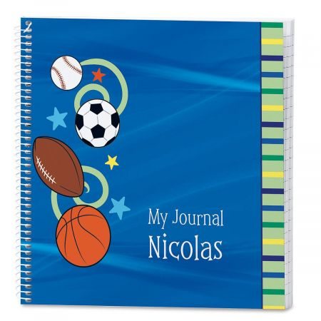 Sports Balls Lined Journal