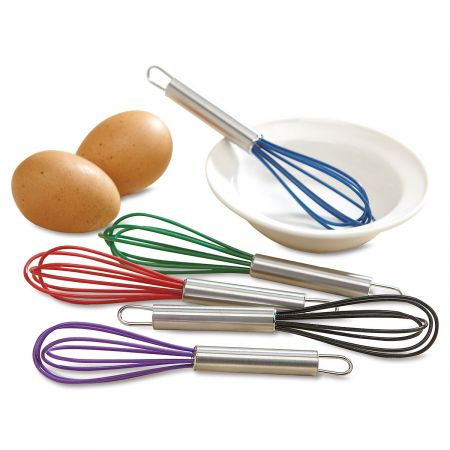 Mini Silicone Kitchen Whisks