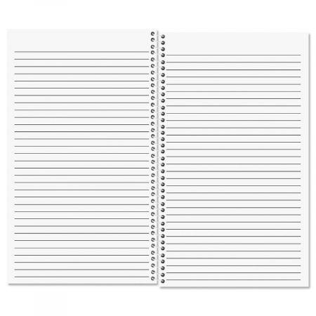 Ribbon Initial Notebook