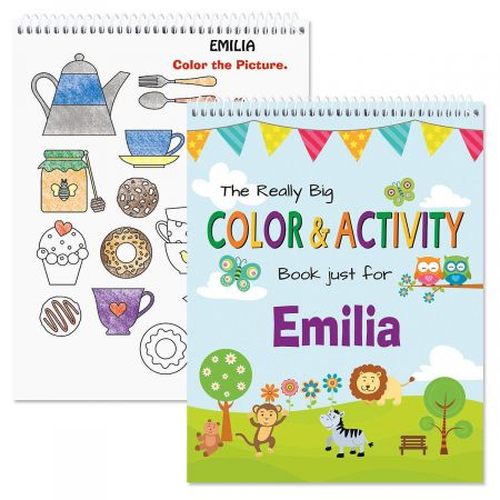 Personalized Everyday Activity Book