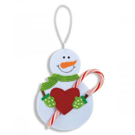Snowman Candy Cane Holders