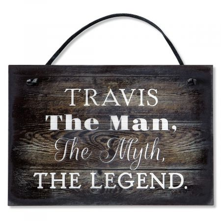 Personalized The Man, The Myth...Plaque