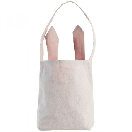 Pink Easter Tote with Ears
