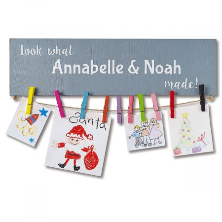 Personalized Artwork Display Board