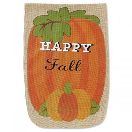 Pumpkin Garden Banner and Garden Flag Stand