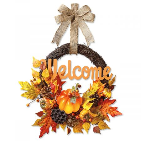 Autumn Welcome Wreath