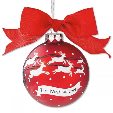 Family Personalized Christmas Ornament