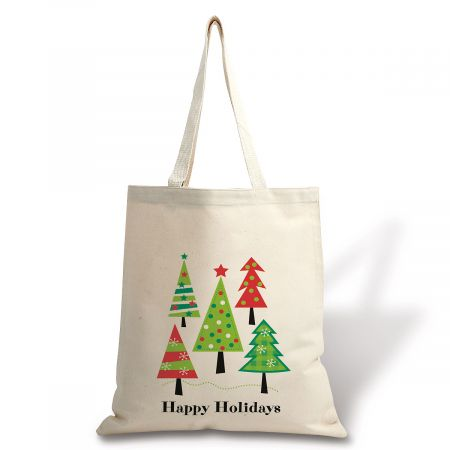 Holiday Canvas Tote