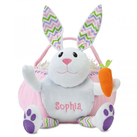 Personalized Bunny Easter Baskets Lillian Vernon