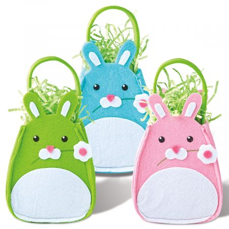 Easter Felt Bunny Treat Bags