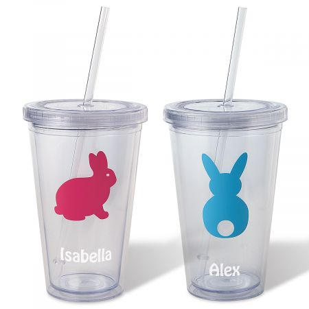 Easter Acrylic Personalized Beverage Cups