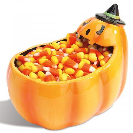 Pumpkin Mouth Candy Bowl