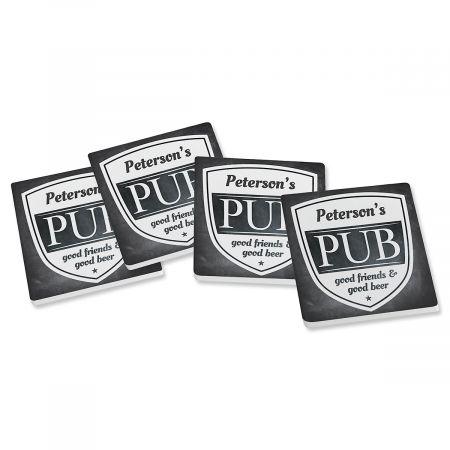 Personalized Pub Coasters