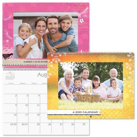 Textures Photo Calendar
