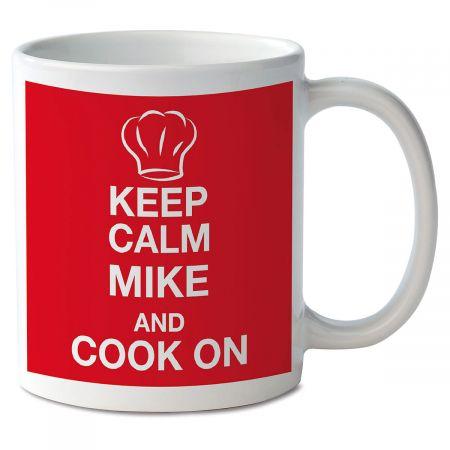 Keep Calm and Cook On Mug
