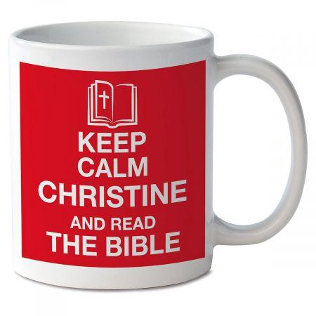 Keep Calm and Read the Bible Mug