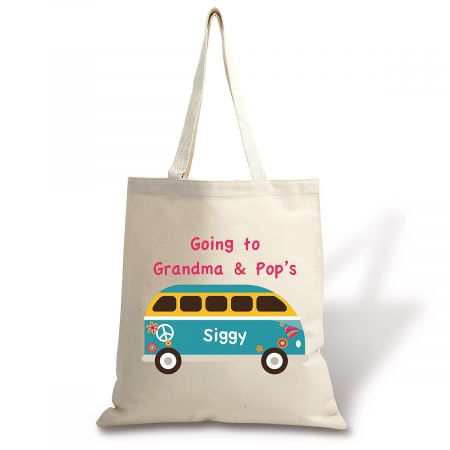Going To Personalized Canvas Tote