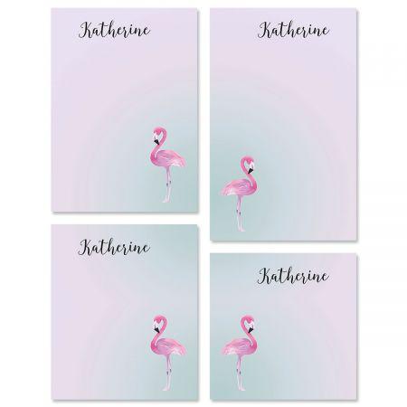 Single Flamingo Notepads