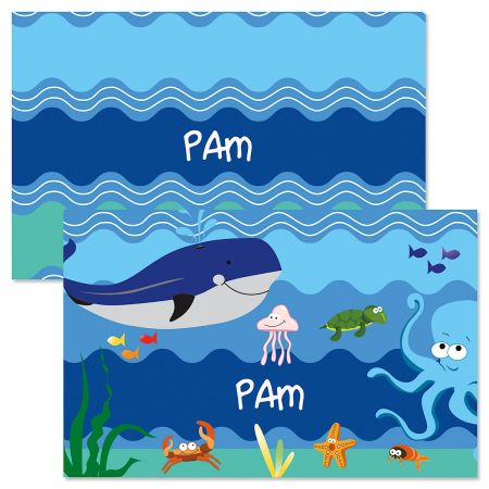 Under the Sea Personalized Kids' Placemat