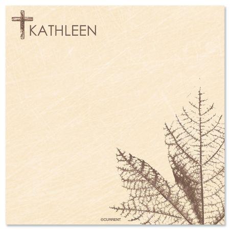 Cross Custom Note Sheets print detail