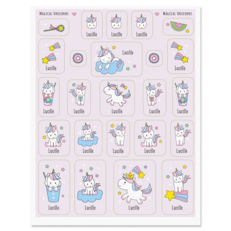 Magical Unicorns Stickers