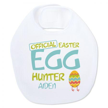 Baby's Easter Egg Hunter Bib