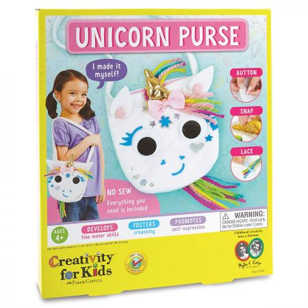 Make Your Own Unicorn Purse Kit