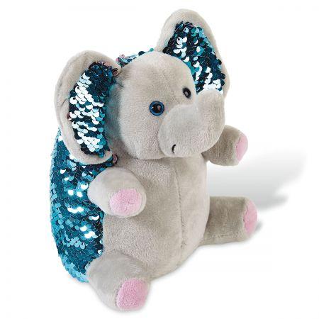 Twinkles the Elephant Sequin Mini Pet